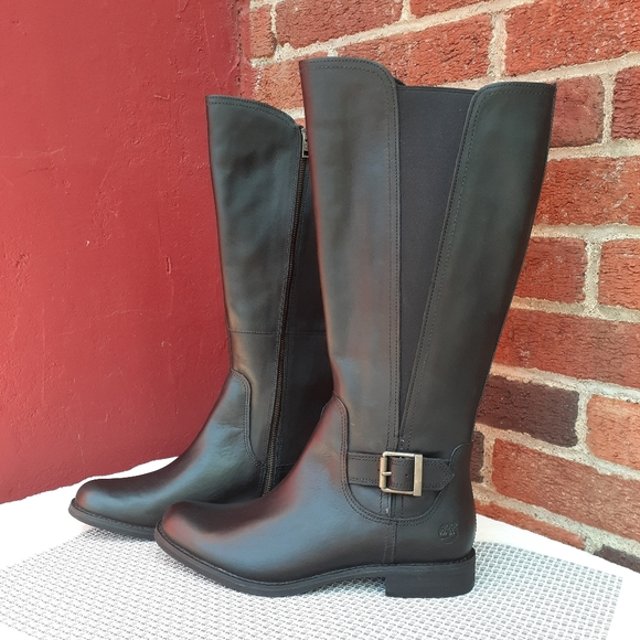 Wide Calf Tall Riding Boots Fall Gift